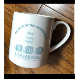 リサラーソン(Lisa Larson)のリサラーソン マグカップ ハリネズミ 完売品 限定品 コップ 新品 磁器 マグ(グラス/カップ)