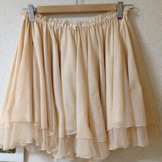 ローリーズファーム(LOWRYS FARM)の値下げ♡チュールスカート(ミニスカート)