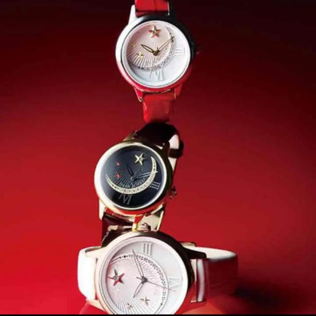 STAR JEWELRY(スタージュエリー)のスタージュエリー 腕時計 黒 レディースのアクセサリー(その他)の商品写真