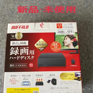 バッファロー(Buffalo)の新品・未使用品 HDD 2TB BUFFALO HD-LD2.0U3-BKA(テレビ)