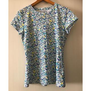 カルバンクライン(Calvin Klein)の【Calvin klein】花柄Tシャツ レディース(Tシャツ(半袖/袖なし))