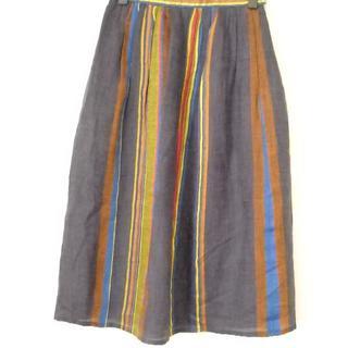 ラルフローレン(Ralph Lauren)の美品 ラルフローレンイタリア製生地使用スカート 9サイズ(ロングスカート)