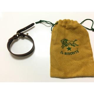 イルビゾンテ(IL BISONTE)のIL BISONTEブレスレット-牛革 専用ケース,説明書付き/24時間以内発送(ブレスレット)