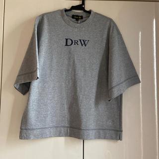 ドゥロワー(Drawer)のDrawer新品タグ付き✨ロゴT グレー(Tシャツ(半袖/袖なし))