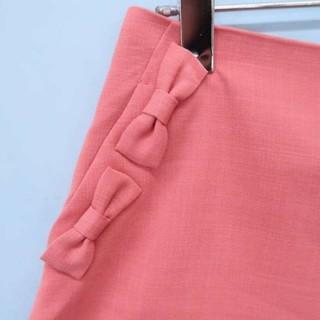クチュールブローチ(Couture Brooch)の【美品】リボンつきショートパンツ/ピンク(ショートパンツ)