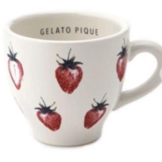 ジェラートピケ(gelato pique)のジェラートピケ ストロベリーマグカップ(グラス/カップ)