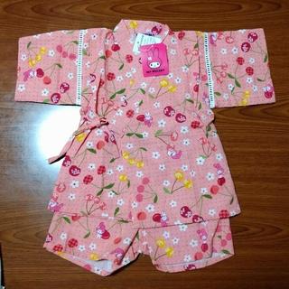 マイメロディ(マイメロディ)の女児用 甚平 マイメロディ  90cm(甚平/浴衣)