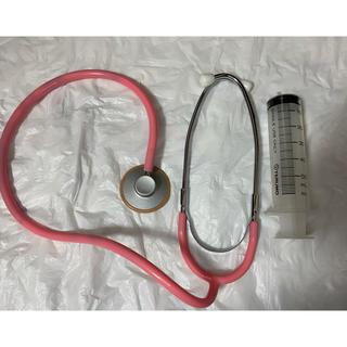 ジュエルズ(JEWELS)の聴診器&注射器2点セット 美品ナースコスプレ(コスプレ)