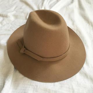 イッカ(ikka)のikka イッカ テンガロハット 帽子 ハット キャメル ツバ広(ハット)