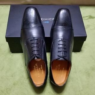 オリヒカ(ORIHICA)の26cm【新品・未使用】ORIHICA オリヒカ 紳士靴 黒(ドレス/ビジネス)
