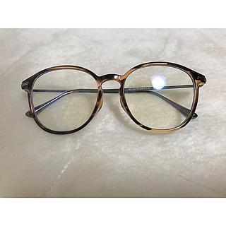 ユニクロ(UNIQLO)のボストン クリアサングラス UV/ブルーライトカット(サングラス/メガネ)