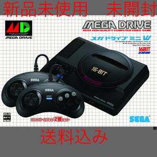 セガ(SEGA)のメガドライブ ミニW SEGA セガ 新品未使用 送料込み W HAA-2523(家庭用ゲーム機本体)