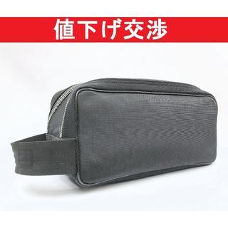 ダンヒル(Dunhill)の[正規品]ダンヒル セカンドバッグ 軽量ナイロン黒[美品](セカンドバッグ/クラッチバッグ)