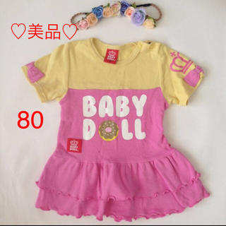 ベビードール(BABYDOLL)の♡美品80ベビードール ワンピースbaby doll(ワンピース)