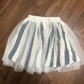 ニードルワークスーン(NEEDLE WORK SOON)のneedle works  リネンレーススカート 90cm(スカート)