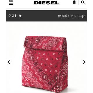 ディーゼル(DIESEL)のDIESEL ディーゼル ランチバッグ メンバーシッププログラム 非売品 限定(その他)