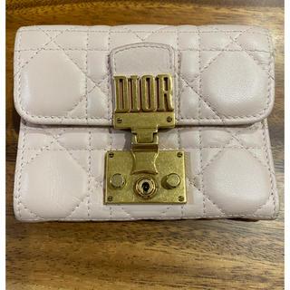 ディオール(Dior)のDior 三つ折り ミニ財布(財布)