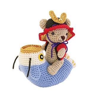 オリンパス(OLYMPUS)の♪オリムパス製絲  編み物キット くまと鯉のぼり(生地/糸)