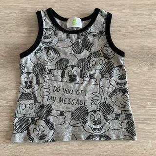 ディズニー(Disney)の美品ミッキー タンクトップベビー キッズ(タンクトップ/キャミソール)