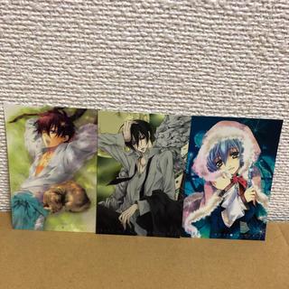 カドカワショテン(角川書店)の薔薇嬢のキス イラストカード3枚セット(カード)