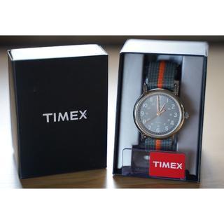 タイメックス(TIMEX)のTIMEX ウィークエンダー セントラルパーク グレー×グレー(腕時計(アナログ))