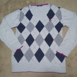 バーバリーブラックレーベル(BURBERRY BLACK LABEL)のバーバリー ニット セーター(ニット/セーター)