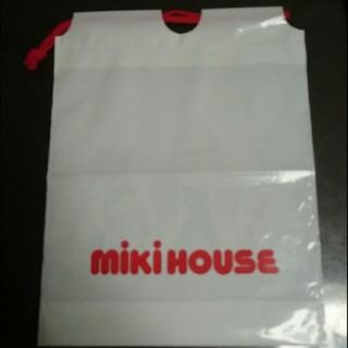ミキハウス(mikihouse)の①miki  HOUSEのビニール袋(ショップ袋)