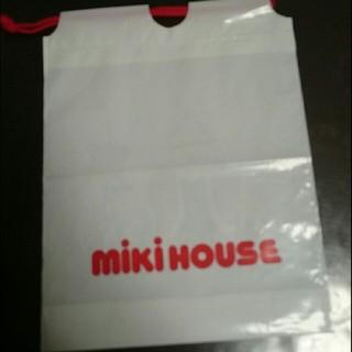 ミキハウス(mikihouse)の②miki  HOUSEのビニール袋(ショップ袋)