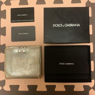 ドルチェアンドガッバーナ(DOLCE&GABBANA)のDOLCE&GABBANA(ドルチェアンドガッバーナ)2つ折り財布(財布)