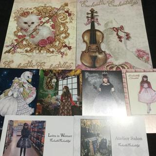 BABY,THE STARS SHINE BRIGHT - Enchantlic Enchantilly ポストカード6、猫のミニポスター3
