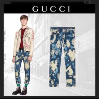 グッチ(Gucci)のGUCCI ブリーチデニム(デニム/ジーンズ)