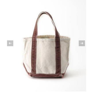 アパルトモンドゥーズィエムクラス(L'Appartement DEUXIEME CLASSE)のアパルトモン/エル・エル・ビーンCanvas tote bag S(トートバッグ)