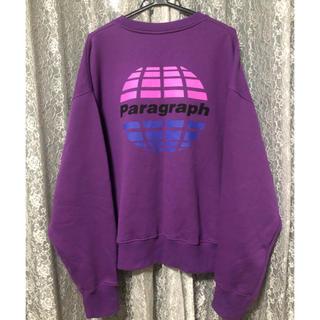 ハレ(HARE)のParagraph purple pullover(スウェット)