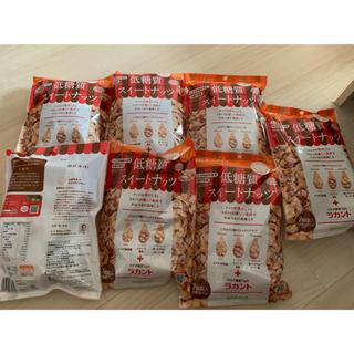 サラヤ(SARAYA)の低糖質 スイートナッツ ラカント 7袋セット(ダイエット食品)