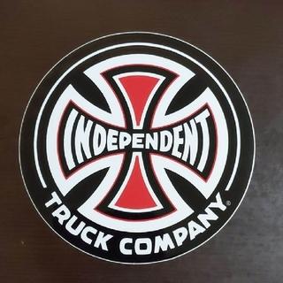 インディペンデント(INDEPENDENT)の(直径15.3cm)INDEPENDENT ステッカー 大(スケートボード)