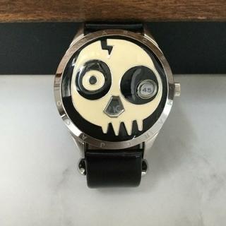 マークバイマークジェイコブス(MARC BY MARC JACOBS)の【電池交換済】MARK BY MARK JACOBS スカル限定モデル 腕時計(腕時計(デジタル))