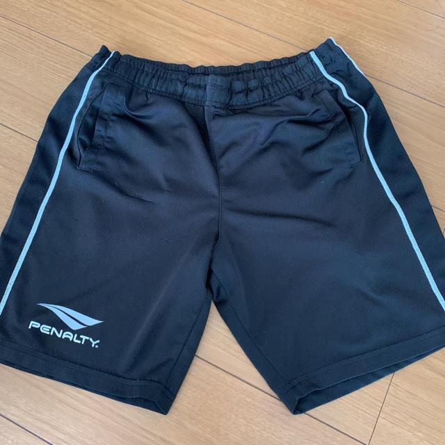 PENALTY(ペナルティ)のペナルティ ハーフパンツ メンズ S 黒 ブラック プラクティスパンツ スポーツ/アウトドアのサッカー/フットサル(ウェア)の商品写真