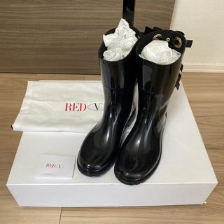 レッドヴァレンティノ(RED VALENTINO)のお取り置きRED VALENTINO 37 レインブーツ(レインブーツ/長靴)