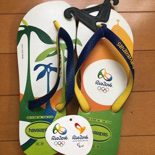 ハワイアナス(havaianas)のhavaianas リオオリンピック限定モデル(ビーチサンダル)