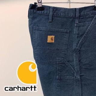 カーハート(carhartt)のCarhartt カーハート ダックペインターショーツ ブラック 32 ゆるだぼ(ショートパンツ)