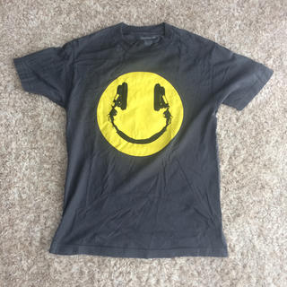ホリスター(Hollister)のTシャツ ニコニコマーク スマイル ヘッドホン(Tシャツ/カットソー(半袖/袖なし))