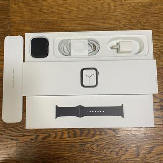 アップルウォッチ(Apple Watch)のApple Watch Series 4 GPS+CEL 44mm アルミケース(スマートフォン本体)