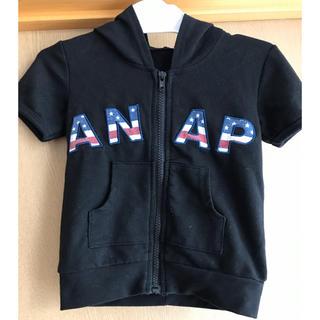 アナップキッズ(ANAP Kids)のANAP半袖パーカー(Tシャツ/カットソー)