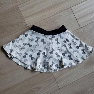 リボン柄スカート 120(スカート)