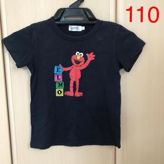 セサミストリート(SESAME STREET)の半袖 トップス Tシャツ 110サイズ セサミストリート エルモ(Tシャツ/カットソー)