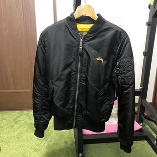 STUSSY - ステューシー  アルファ MA-1ジャケット