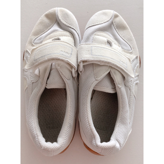 アサヒ 上履き 白 19.5cm