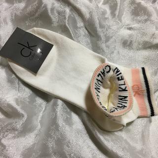 カルバンクライン(Calvin Klein)のカルバンクライン ソックス レディース 新品 22〜24cm 日本製(ソックス)