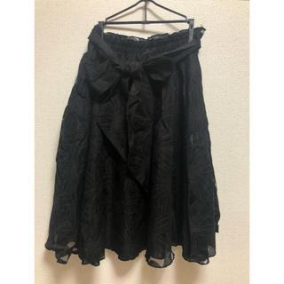 アントマリーズ(Aunt Marie's)のAunt Marie's フレアスカート(ひざ丈スカート)