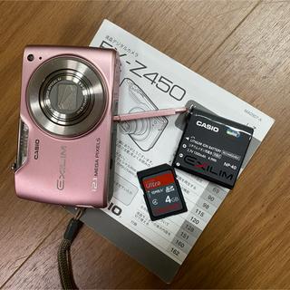 カシオ(CASIO)のEX-Z450 ピンクCASIO EXILIM デジカメ(コンパクトデジタルカメラ)